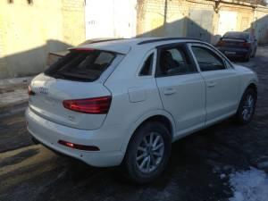 Кузовной ремонт Audi после ремонта