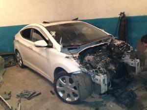 Hyundai Avante до ремонта