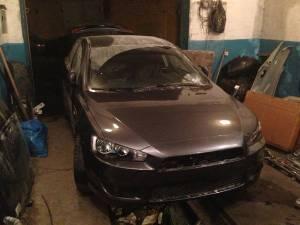 Кузовной ремонт Mitsubishi Lancer после ремонта