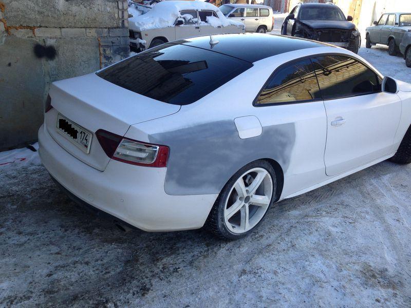 Audi подготовка