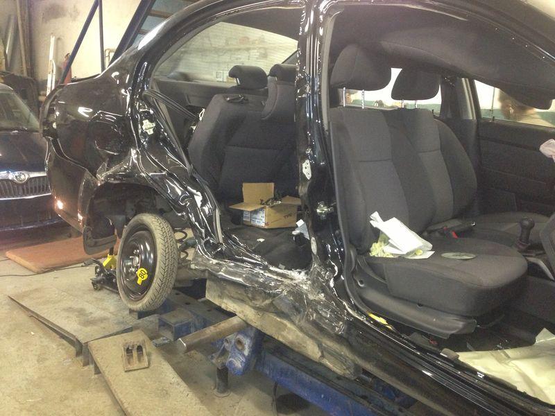 Авео - кузовной ремонт