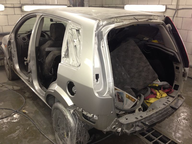 Форд после кузовного ремонта