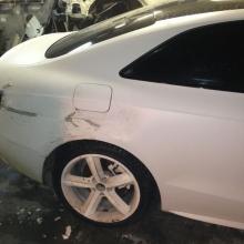 Audi до кузовного ремонта