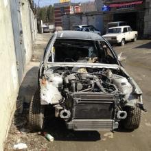 Кузовной ремонт- BMW до ремонта