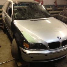 Кузовной ремонт- BMW после ремонта