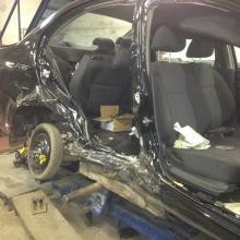 Шевроле до кузовного ремонта