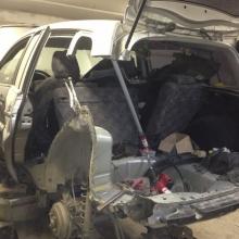 Форд до кузовного ремонта