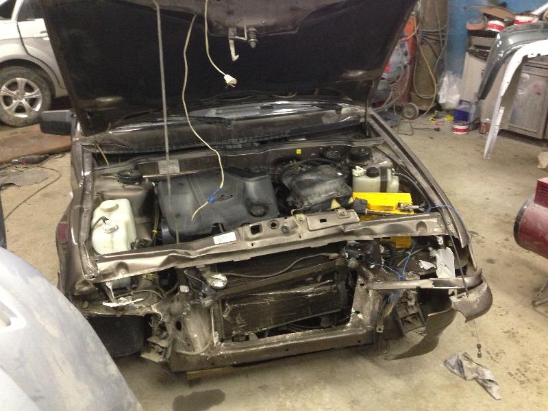 Ваз2114 до ремонта