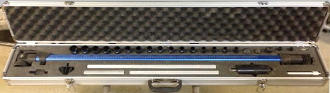 Линейка для измерения геометрии кузова