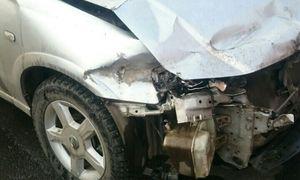 Кузовной ремонт Nissan Almera Classic до ремонта