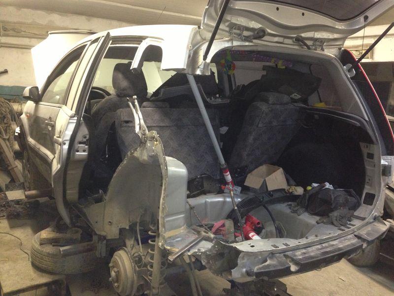 Кузовной ремонт Ford
