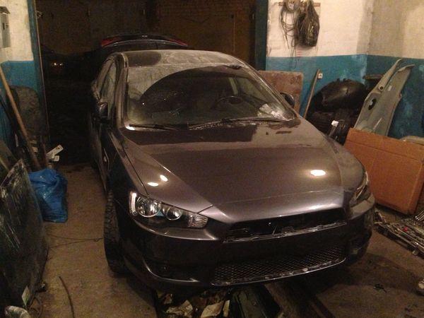 Mitsubishi Lancer после кузовного ремонта