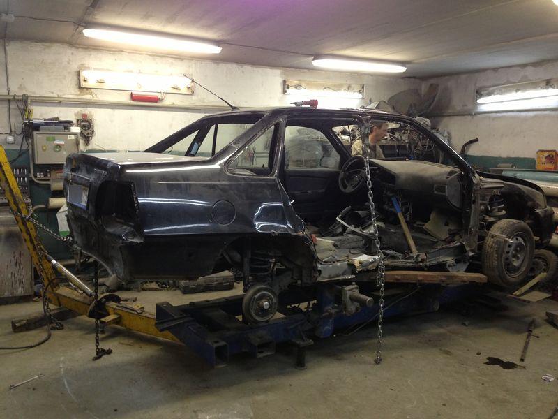 сложный кузовной ремонт Nexia