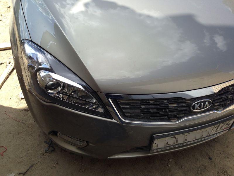 Kia Ceed после кузовного ремонта