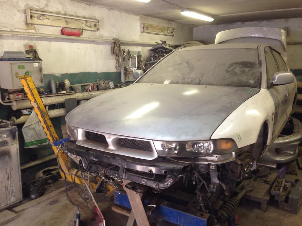 Mitsubishi после кузовного ремонта