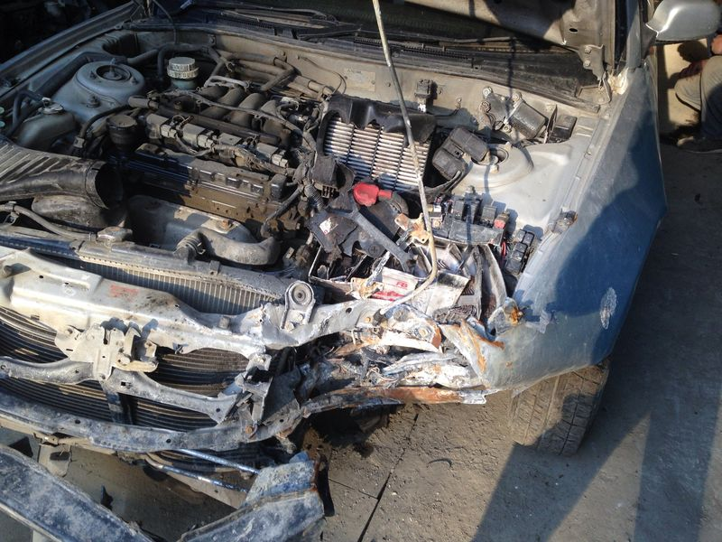 Mitsubishi до кузовного ремонта