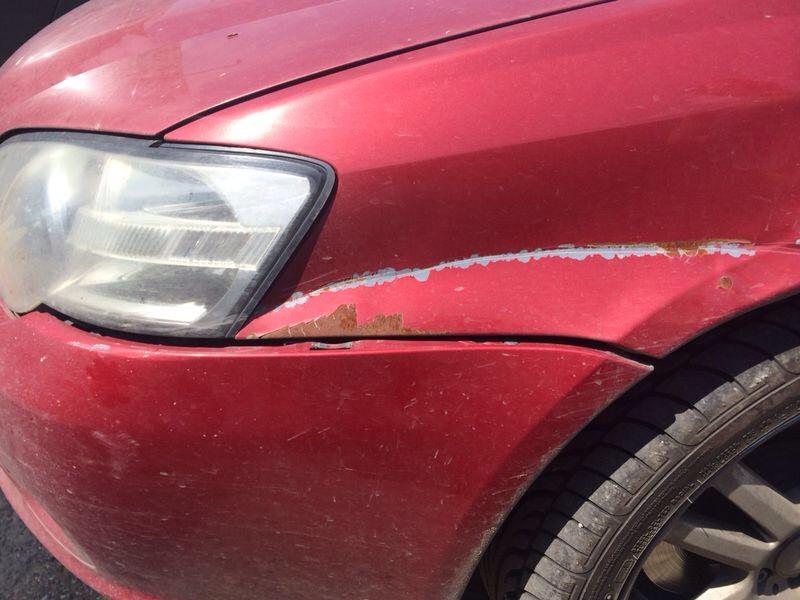 Subaru до кузовного ремонта