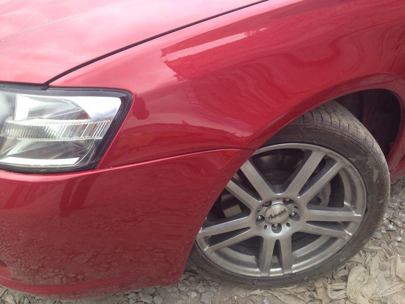 Subaru после кузовного ремонта и окраски переднего крыла