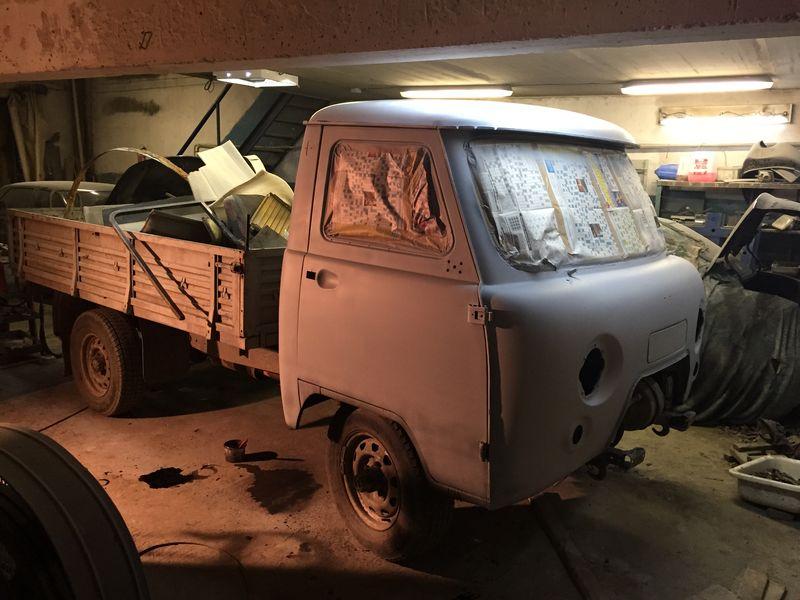 Кузовной ремонт УАЗ