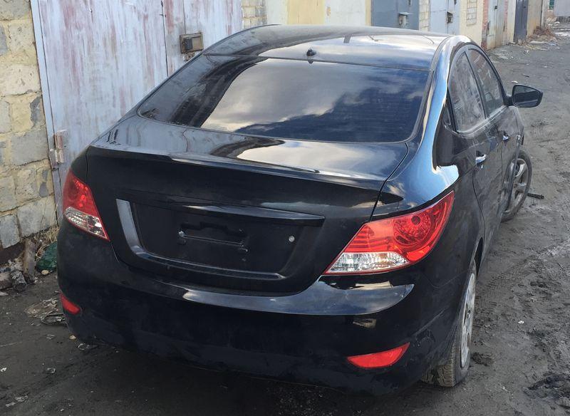 Hyundai Solaris  после кузовного ремонта