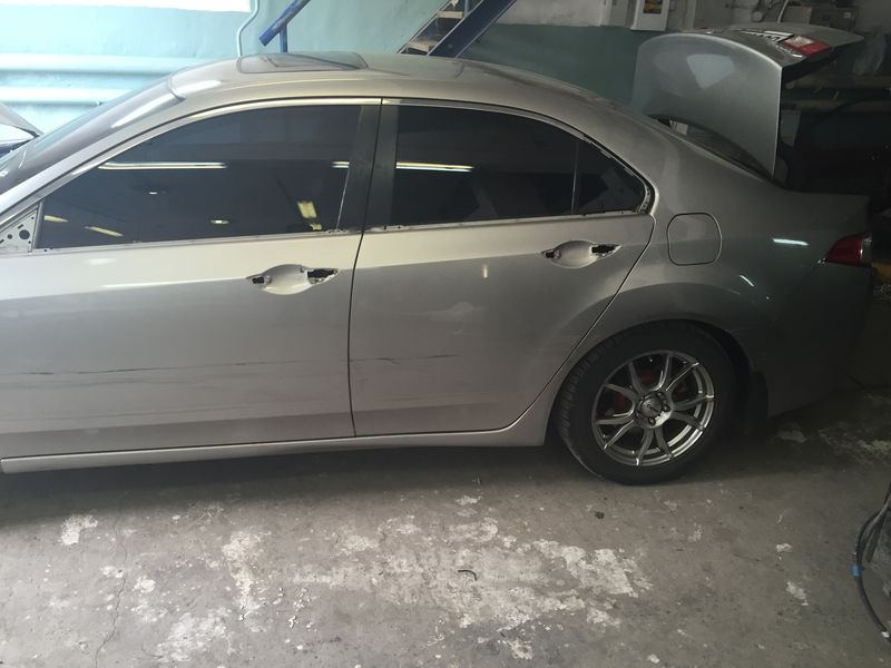 Сложный кузовной ремонт Honda Accord