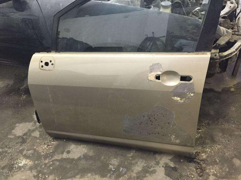 Кузовной ремонт и покраска двери Nissan