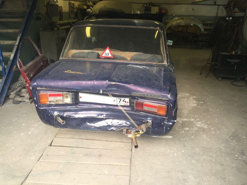 Кузовной ремонт, Ваз 2106 до кузовного ремонта