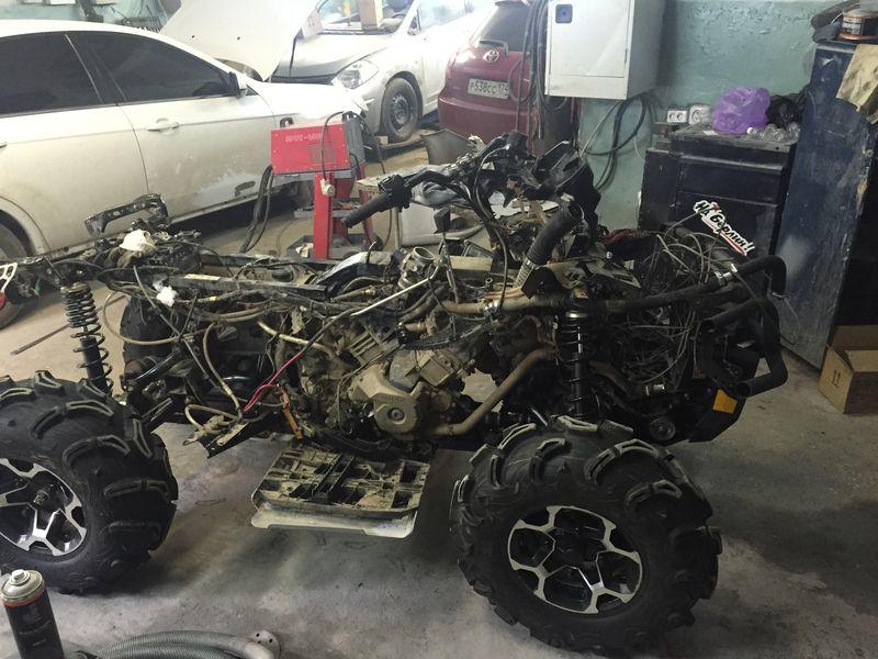 Кузовной ремонт рамы