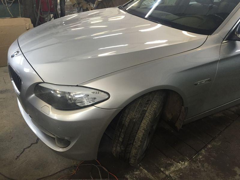 кузовной ремонт и покраска крыла BMW - Челябинск