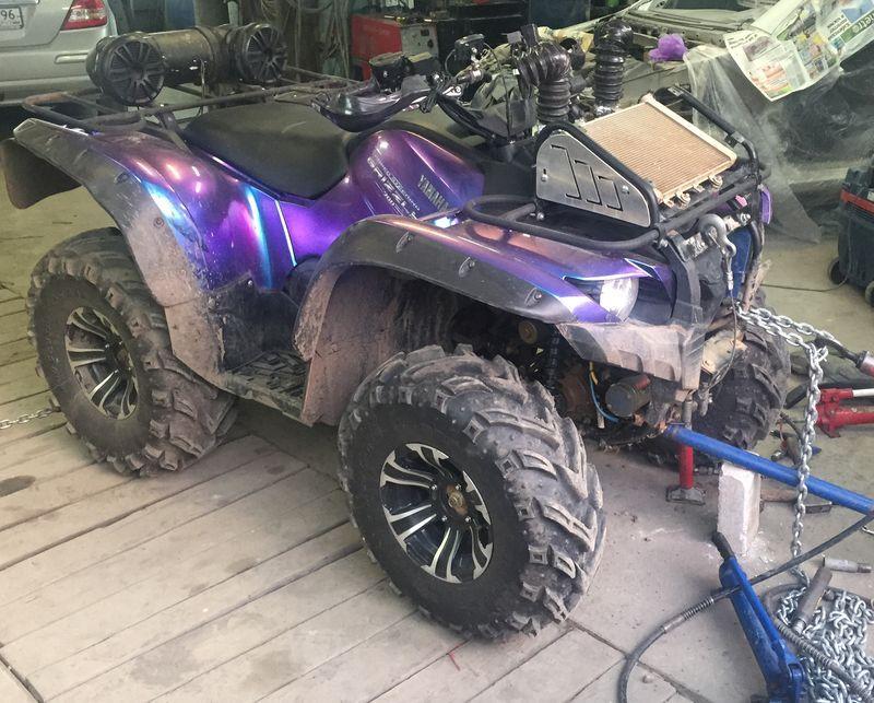 Кузовной ремонт Yamaha