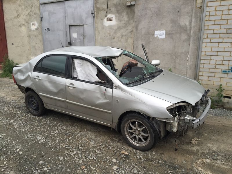 Toyota до ремонта