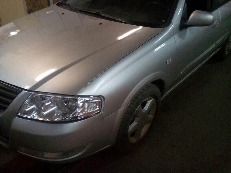Сложный кузовной ремонт Nissan