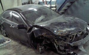 Nissan Almera Classic до ремонта