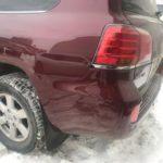 Кузовной ремонт и покраска Lexus (крыло, бампер)